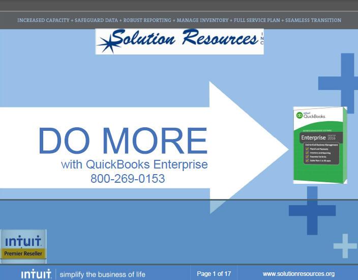 Intuit QuickBooks Enterprise Soltuions